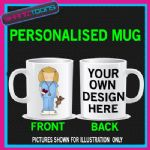 NURSE LADIES MUG PERSONALISED GIFT 002